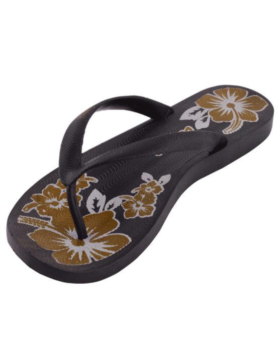 Women's-slippers-black